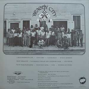 Beacon City Band back cover